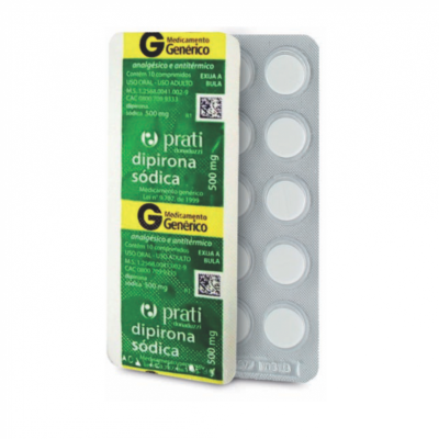DIPIRONA 500 MG C/ 10 CPR