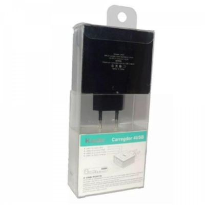 Carregador 4USB 4.2A OUTPUT KINGO