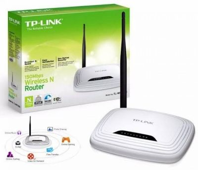 Roteador Wireless N 150mbs Tp-link Tl-wr740n