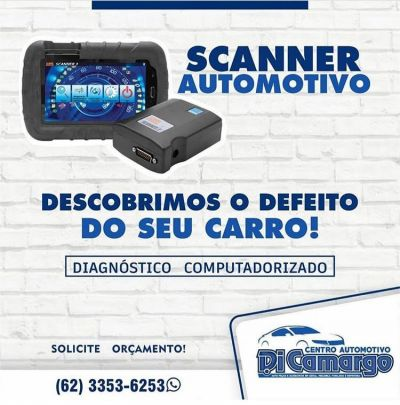 SCANNER AUTOMOTIVO - DI CAMARGO CENTRO AUTOMOTIVO