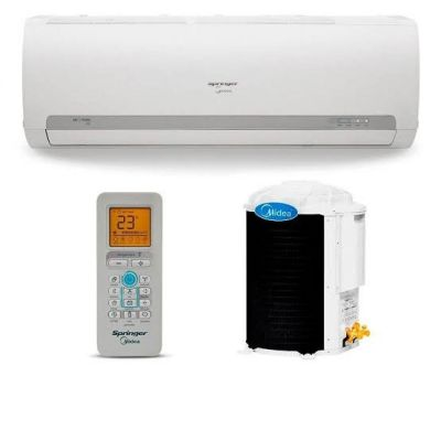 Ar Condicionado Split Springer Midea Só Frio High Wall 12000 BTUs